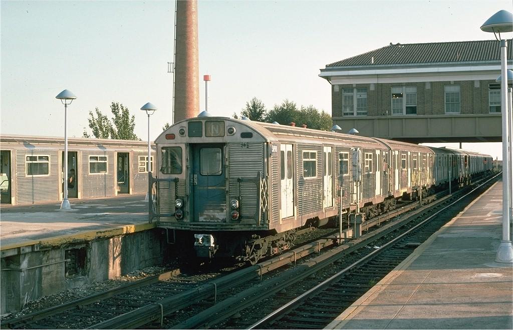 (219k, 1024x659)<br><b>Country:</b> United States<br><b>City:</b> New York<br><b>System:</b> New York City Transit<br><b>Location:</b> Coney Island/Stillwell Avenue<br><b>Route:</b> N<br><b>Car:</b> R-32 (Budd, 1964)  3898 <br><b>Photo by:</b> Ed McKernan<br><b>Collection of:</b> Joe Testagrose<br><b>Date:</b> 10/10/1974<br><b>Viewed (this week/total):</b> 6 / 4692