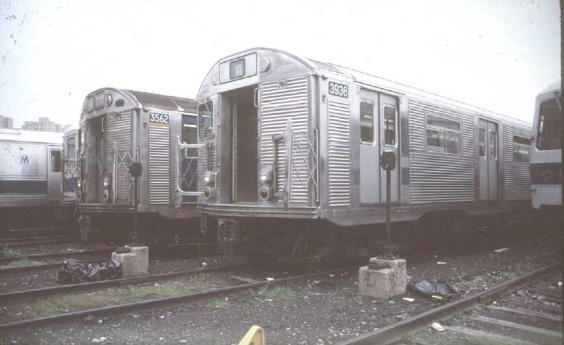 (45k, 820x502)<br><b>Country:</b> United States<br><b>City:</b> New York<br><b>System:</b> New York City Transit<br><b>Location:</b> Coney Island Yard<br><b>Car:</b> R-32 (GE Rebuild) 3936 <br><b>Photo by:</b> Harold<br><b>Viewed (this week/total):</b> 0 / 3679