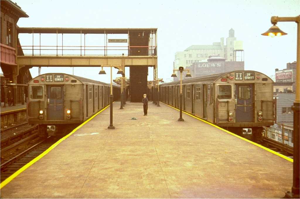 (174k, 1024x678)<br><b>Country:</b> United States<br><b>City:</b> New York<br><b>System:</b> New York City Transit<br><b>Location:</b> Coney Island/Stillwell Avenue<br><b>Route:</b> TT<br><b>Car:</b> R-32 (Budd, 1964)   <br><b>Collection of:</b> Joe Testagrose<br><b>Viewed (this week/total):</b> 2 / 7467