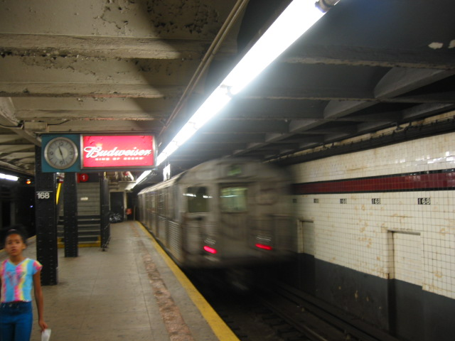 (87k, 640x480)<br><b>Country:</b> United States<br><b>City:</b> New York<br><b>System:</b> New York City Transit<br><b>Line:</b> IND 8th Avenue Line<br><b>Location:</b> 168th Street <br><b>Route:</b> C<br><b>Car:</b> R-38 (St. Louis, 1966-1967)  3967 <br><b>Photo by:</b> Oren H.<br><b>Date:</b> 8/6/2002<br><b>Viewed (this week/total):</b> 0 / 3800