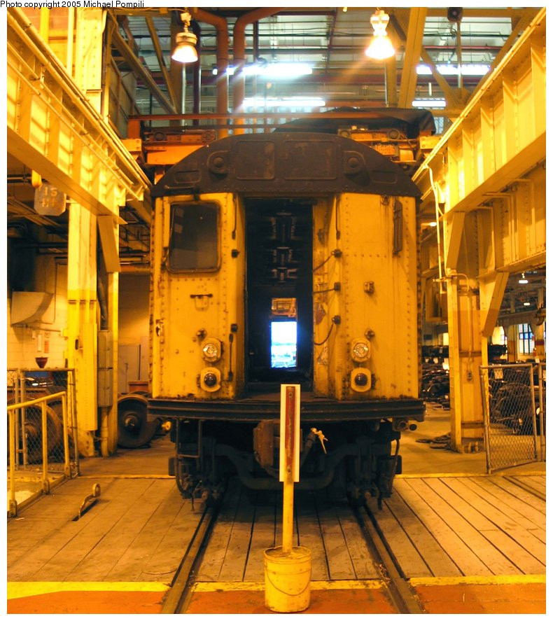 (186k, 790x887)<br><b>Country:</b> United States<br><b>City:</b> New York<br><b>System:</b> New York City Transit<br><b>Location:</b> Coney Island Shop/Overhaul & Repair Shop<br><b>Car:</b> R-71 Rider Car (R-17/R-21/R-22 Rebuilds)  RD348 (ex-7318)<br><b>Photo by:</b> Michael Pompili<br><b>Date:</b> 6/29/2004<br><b>Viewed (this week/total):</b> 3 / 1949