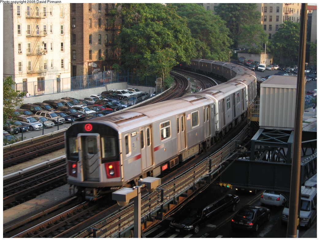 (227k, 1044x788)<br><b>Country:</b> United States<br><b>City:</b> New York<br><b>System:</b> New York City Transit<br><b>Line:</b> IRT Woodlawn Line<br><b>Location:</b> 161st Street/River Avenue (Yankee Stadium) <br><b>Route:</b> 4<br><b>Car:</b> R-142A (Option Order, Kawasaki, 2002-2003)  7671 <br><b>Photo by:</b> David Pirmann<br><b>Date:</b> 7/26/2005<br><b>Viewed (this week/total):</b> 0 / 4813