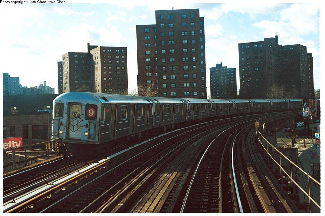 (150k, 1044x696)<br><b>Country:</b> United States<br><b>City:</b> New York<br><b>System:</b> New York City Transit<br><b>Line:</b> IRT West Side Line<br><b>Location:</b> 231st Street <br><b>Route:</b> 9<br><b>Car:</b> R-62A (Bombardier, 1984-1987)  2361 <br><b>Photo by:</b> Chao-Hwa Chen<br><b>Date:</b> 12/31/1997<br><b>Viewed (this week/total):</b> 3 / 5832
