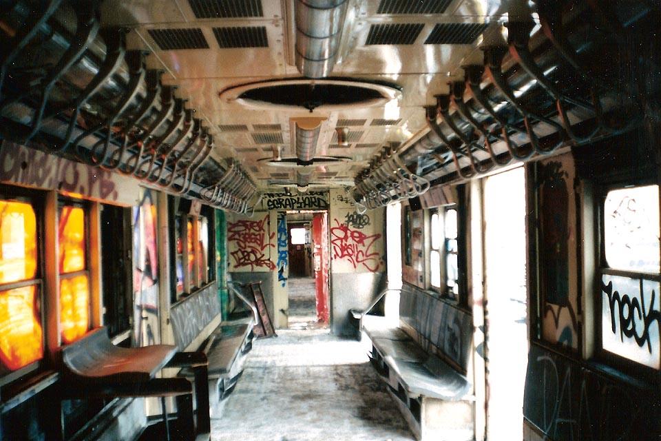 (146k, 960x640)<br><b>Country:</b> United States<br><b>City:</b> New York<br><b>System:</b> New York City Transit<br><b>Line:</b> South Brooklyn Railway<br><b>Location:</b> SBK Yard (2nd Ave at 38th St.) (SBK)<br><b>Car:</b> Garbage Motor (R-21/R-22 Rebuilds)  G7420 <br><b>Photo by:</b> Michael Pompili<br><b>Date:</b> 6/2003<br><b>Viewed (this week/total):</b> 7 / 3948
