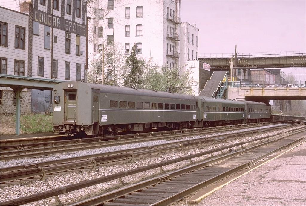 (261k, 1024x688)<br><b>Country:</b> United States<br><b>City:</b> New York<br><b>System:</b> Metro-North Railroad (or Amtrak or Predecessor RR)<br><b>Line:</b> Metro North-Harlem Line<br><b>Location:</b> Williams Bridge <br><b>Car:</b> MNRR ACMU 1114 <br><b>Photo by:</b> Doug Grotjahn<br><b>Collection of:</b> Joe Testagrose<br><b>Date:</b> 4/21/1973<br><b>Viewed (this week/total):</b> 2 / 3712
