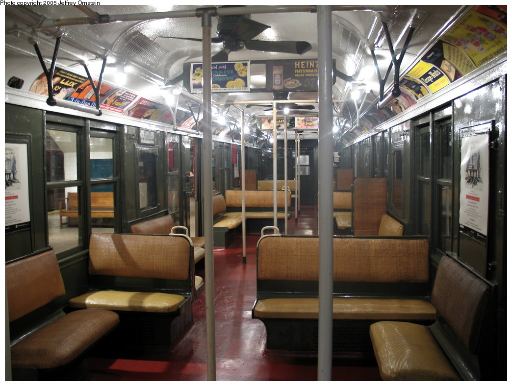(164k, 1044x788)<br><b>Country:</b> United States<br><b>City:</b> New York<br><b>System:</b> New York City Transit<br><b>Location:</b> New York Transit Museum<br><b>Car:</b> BMT A/B-Type Standard 2204 <br><b>Photo by:</b> Jeffrey Ornstein<br><b>Date:</b> 8/19/2005<br><b>Viewed (this week/total):</b> 1 / 4333