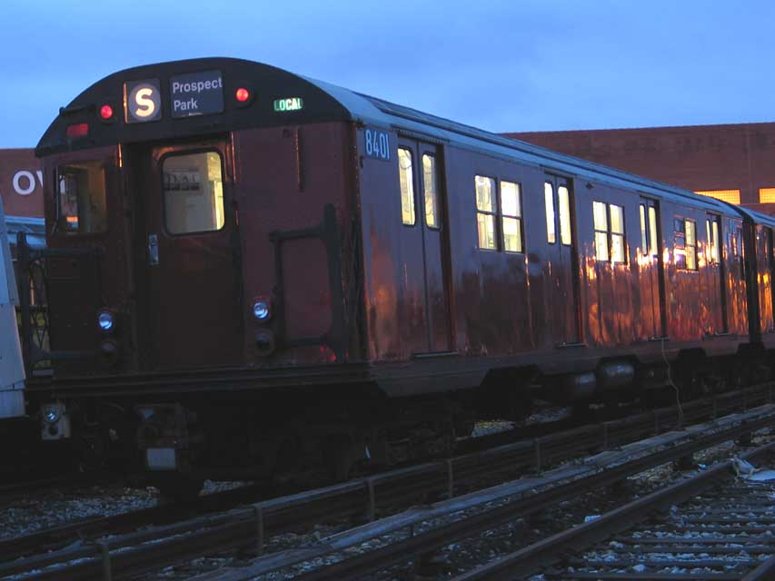 (58k, 853x640)<br><b>Country:</b> United States<br><b>City:</b> New York<br><b>System:</b> New York City Transit<br><b>Location:</b> Coney Island Yard-Training Facilities<br><b>Car:</b> R-30 (St. Louis, 1961) 8401 <br><b>Photo by:</b> Michael Pompili<br><b>Date:</b> 7/13/2004<br><b>Viewed (this week/total):</b> 2 / 5152