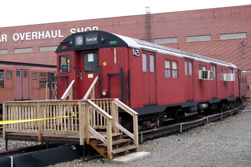(132k, 960x640)<br><b>Country:</b> United States<br><b>City:</b> New York<br><b>System:</b> New York City Transit<br><b>Location:</b> Coney Island Yard-Training Facilities<br><b>Car:</b> R-30 (St. Louis, 1961) 8425 <br><b>Photo by:</b> Michael Pompili<br><b>Date:</b> 4/3/2004<br><b>Viewed (this week/total):</b> 0 / 7870