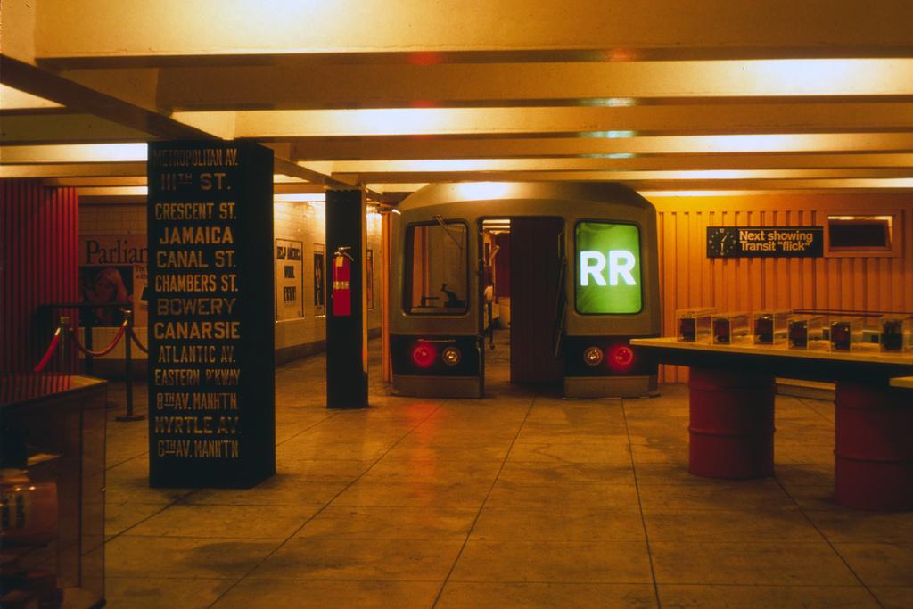 (396k, 1044x712)<br><b>Country:</b> United States<br><b>City:</b> New York<br><b>System:</b> New York City Transit<br><b>Location:</b> New York Transit Museum<br><b>Photo by:</b> Steve Zabel<br><b>Collection of:</b> David Pirmann<br><b>Date:</b> 1976<br><b>Viewed (this week/total):</b> 3 / 6719