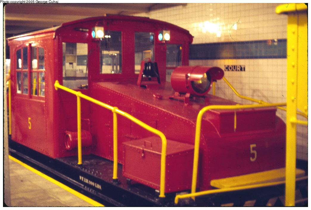 (187k, 1044x706)<br><b>Country:</b> United States<br><b>City:</b> New York<br><b>System:</b> New York City Transit<br><b>Location:</b> New York Transit Museum<br><b>Car:</b> SBK Steeplecab 6 <br><b>Photo by:</b> George Cuhaj<br><b>Date:</b> 7/2/1976<br><b>Viewed (this week/total):</b> 0 / 2494