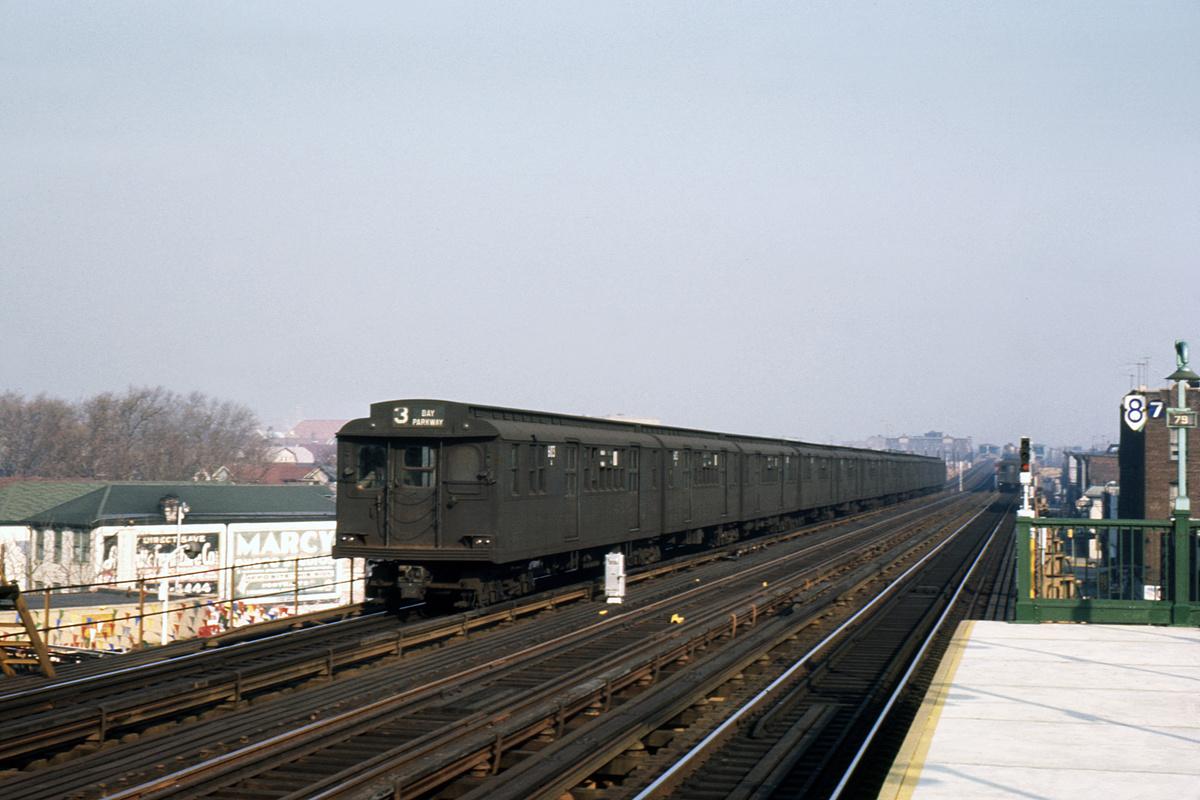 (308k, 1024x683)<br><b>Country:</b> United States<br><b>City:</b> New York<br><b>System:</b> New York City Transit<br><b>Line:</b> BMT West End Line<br><b>Location:</b> 79th Street <br><b>Car:</b> BMT D-Type Triplex 6103 <br><b>Photo by:</b> Ed Davis, Sr.<br><b>Collection of:</b> David Pirmann<br><b>Date:</b> 12/1964<br><b>Viewed (this week/total):</b> 0 / 2991