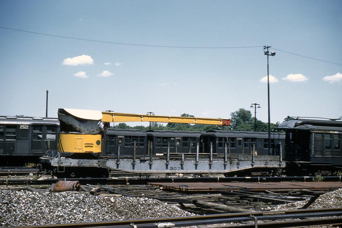 (401k, 1044x710)<br><b>Country:</b> United States<br><b>City:</b> New York<br><b>System:</b> New York City Transit<br><b>Location:</b> 36th Street Yard<br><b>Car:</b> Crane Car 3074 <br><b>Collection of:</b> David Pirmann<br><b>Viewed (this week/total):</b> 1 / 2739