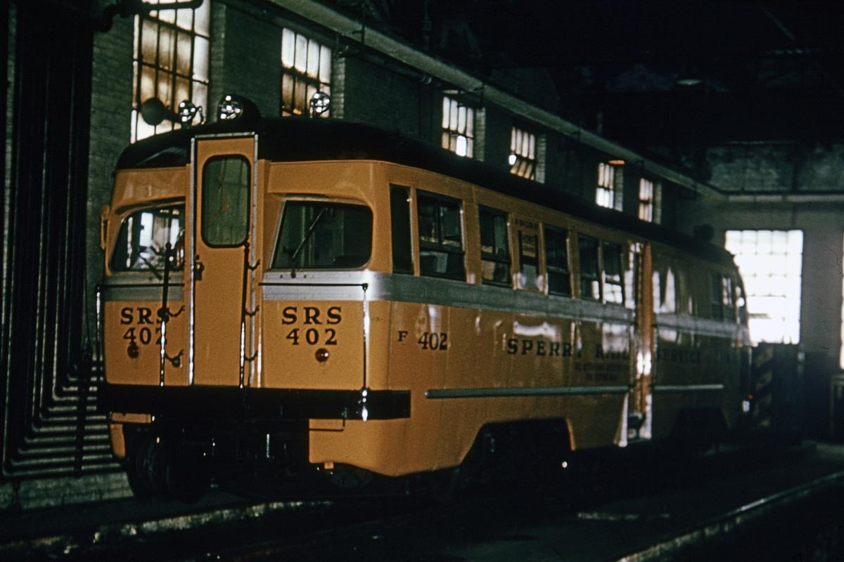 (262k, 1024x683)<br><b>Country:</b> United States<br><b>City:</b> New York<br><b>System:</b> New York City Transit<br><b>Location:</b> Coney Island Shop/Maint. & Inspection Shop<br><b>Car:</b> Sperry Rail Service  402 <br><b>Collection of:</b> David Pirmann<br><b>Viewed (this week/total):</b> 0 / 4102