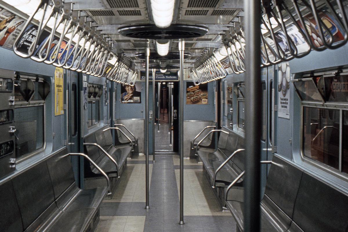 (466k, 1024x682)<br><b>Country:</b> United States<br><b>City:</b> New York<br><b>System:</b> New York City Transit<br><b>Location:</b> New York Transit Museum<br><b>Car:</b> R-33 World's Fair (St. Louis, 1963-64) 9306 <br><b>Photo by:</b> Steve Hoskins<br><b>Collection of:</b> David Pirmann<br><b>Date:</b> 8/1979<br><b>Viewed (this week/total):</b> 0 / 3997