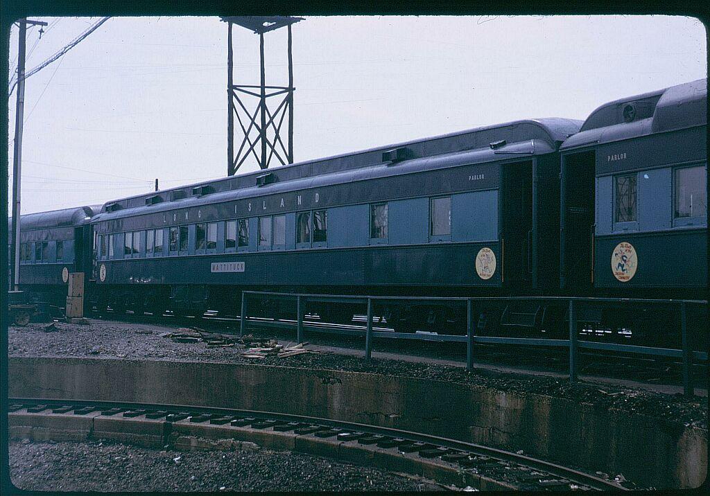 (154k, 1024x716)<br><b>Country:</b> United States<br><b>City:</b> New York<br><b>System:</b> Long Island Rail Road<br><b>Line:</b> LIRR Long Island City<br><b>Location:</b> Richmond Hill <br><b>Car:</b> LIRR P74 Coach  2016 <br><b>Photo by:</b> Steve Hoskins<br><b>Notes:</b> 1960s<br><b>Viewed (this week/total):</b> 16 / 2689