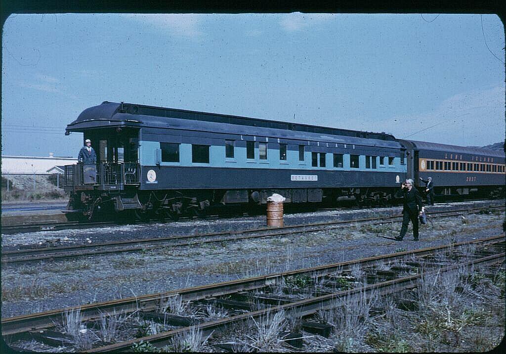 (141k, 1024x716)<br><b>Country:</b> United States<br><b>System:</b> Long Island Rail Road<br><b>Line:</b> LIRR Montauk<br><b>Location:</b> Montauk <br><b>Car:</b> LIRR Cannonball Observation Car 2038 <br><b>Photo by:</b> Steve Hoskins<br><b>Notes:</b> 1960s<br><b>Viewed (this week/total):</b> 4 / 2281