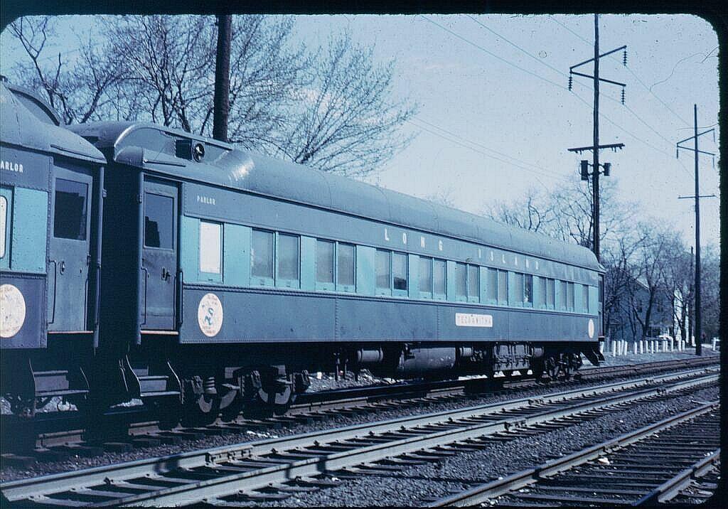 (151k, 1024x716)<br><b>Country:</b> United States<br><b>System:</b> Long Island Rail Road<br><b>Line:</b> LIRR Montauk<br><b>Location:</b> Bay Shore <br><b>Car:</b> LIRR P74 Coach  2047 <br><b>Photo by:</b> Steve Hoskins<br><b>Notes:</b> 1960s<br><b>Viewed (this week/total):</b> 0 / 3447