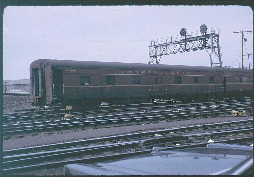 (110k, 1024x716)<br><b>Country:</b> United States<br><b>City:</b> New York<br><b>System:</b> Long Island Rail Road<br><b>Line:</b> LIRR Long Island City<br><b>Location:</b> Richmond Hill <br><b>Car:</b>  Hamilton County <br><b>Photo by:</b> Steve Hoskins<br><b>Notes:</b> 1960s<br><b>Viewed (this week/total):</b> 2 / 2498