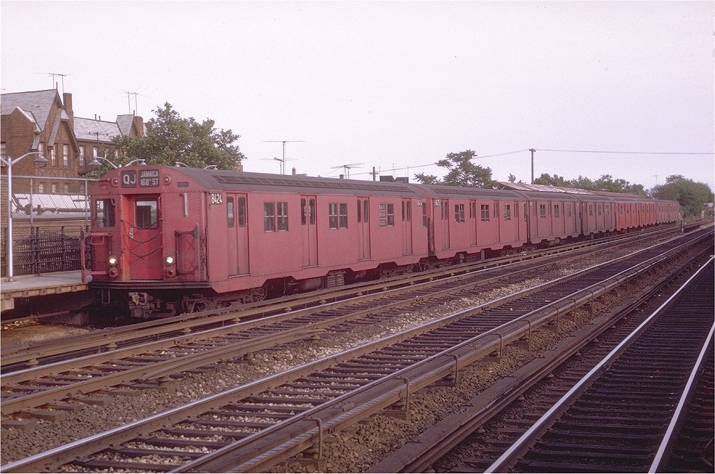 (235k, 1024x680)<br><b>Country:</b> United States<br><b>City:</b> New York<br><b>System:</b> New York City Transit<br><b>Line:</b> BMT Brighton Line<br><b>Location:</b> Avenue U <br><b>Route:</b> QJ<br><b>Car:</b> R-30 (St. Louis, 1961) 8424 <br><b>Photo by:</b> Joe Testagrose<br><b>Date:</b> 6/10/1970<br><b>Viewed (this week/total):</b> 1 / 2208