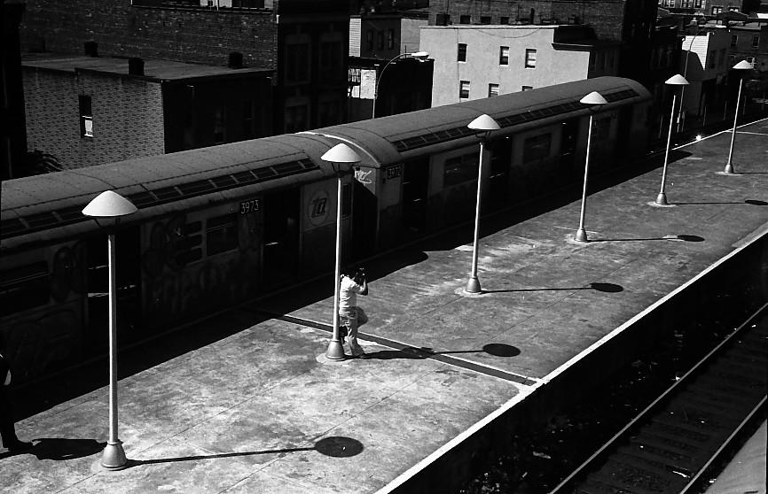 (144k, 866x558)<br><b>Country:</b> United States<br><b>City:</b> New York<br><b>System:</b> New York City Transit<br><b>Location:</b> Coney Island/Stillwell Avenue<br><b>Route:</b> B<br><b>Car:</b> R-38 (St. Louis, 1966-1967)  3973 <br><b>Photo by:</b> Stuart Gitlow<br><b>Date:</b> 10/1977<br><b>Viewed (this week/total):</b> 2 / 2805