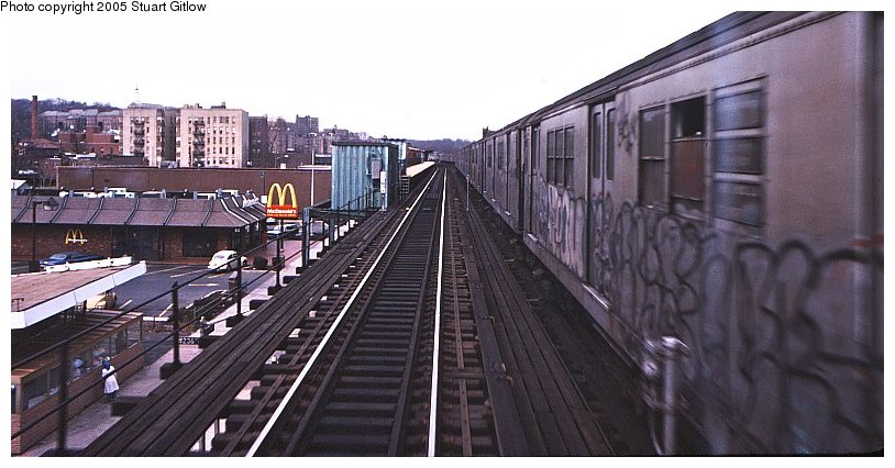 (85k, 814x426)<br><b>Country:</b> United States<br><b>City:</b> New York<br><b>System:</b> New York City Transit<br><b>Line:</b> IRT West Side Line<br><b>Location:</b> 231st Street <br><b>Photo by:</b> Stuart Gitlow<br><b>Notes:</b> 1979-Early 1980s<br><b>Viewed (this week/total):</b> 0 / 2272