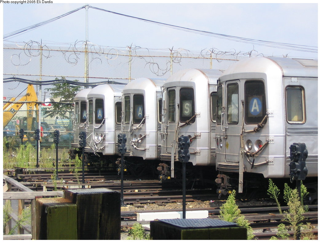 (217k, 1044x788)<br><b>Country:</b> United States<br><b>City:</b> New York<br><b>System:</b> New York City Transit<br><b>Location:</b> Rockaway Park Yard<br><b>Car:</b> R-44 (St. Louis, 1971-73)  <br><b>Photo by:</b> Eli Dardis<br><b>Date:</b> 8/21/2005<br><b>Viewed (this week/total):</b> 4 / 4356