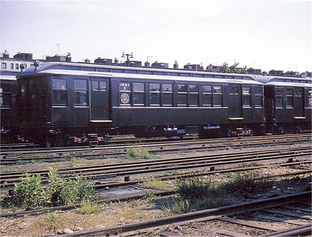 (247k, 1024x779)<br><b>Country:</b> United States<br><b>City:</b> New York<br><b>System:</b> New York City Transit<br><b>Location:</b> Fresh Pond Yard<br><b>Car:</b> BMT Q 1621C <br><b>Collection of:</b> Joe Testagrose<br><b>Date:</b> 6/4/1957<br><b>Viewed (this week/total):</b> 0 / 3373