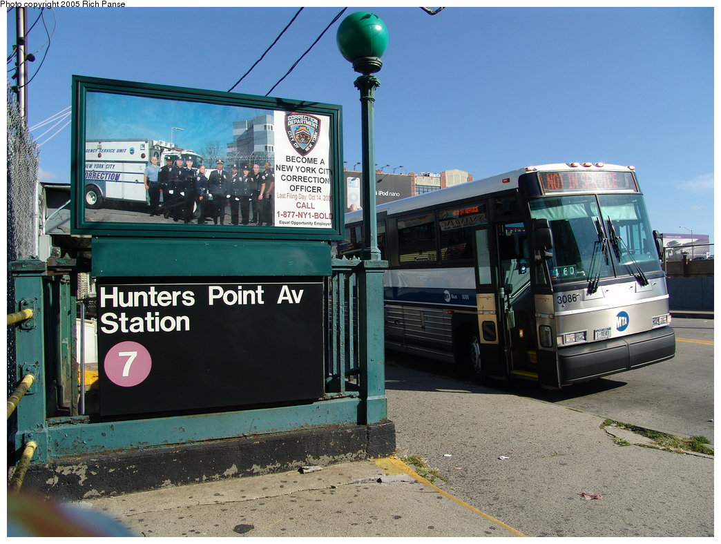 (217k, 1044x788)<br><b>Country:</b> United States<br><b>City:</b> New York<br><b>System:</b> New York City Transit<br><b>Line:</b> IRT Flushing Line<br><b>Location:</b> Hunterspoint Avenue <br><b>Photo by:</b> Richard Panse<br><b>Date:</b> 10/3/2005<br><b>Notes:</b> Station entrance.<br><b>Viewed (this week/total):</b> 2 / 3395