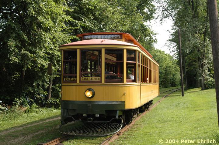 (230k, 720x478)<br><b>Country:</b> United States<br><b>City:</b> Minneapolis, MN<br><b>System:</b> Minnesota Streetcar Museum <br><b>Line:</b> Como-Harriet Line<br><b>Car:</b>  1300 <br><b>Photo by:</b> Peter Ehrlich<br><b>Date:</b> 8/1/2004<br><b>Notes:</b> Twin Cities Standard car 1300 at the Carbarn.<br><b>Viewed (this week/total):</b> 0 / 1296