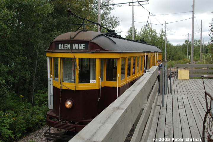 (173k, 720x478)<br><b>Country:</b> United States<br><b>City:</b> Chisholm, MN<br><b>System:</b> Ironworld<br><b>Car:</b> Melbourne W2 Class (1923-1931)  601 <br><b>Photo by:</b> Peter Ehrlich<br><b>Date:</b> 8/29/2005<br><b>Notes:</b> Glen Station, main exhibit area.<br><b>Viewed (this week/total):</b> 1 / 1570