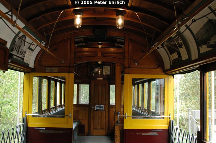 (172k, 720x476)<br><b>Country:</b> United States<br><b>City:</b> Chisholm, MN<br><b>System:</b> Ironworld<br><b>Car:</b> Melbourne W2 Class (1923-1931)  601 <br><b>Photo by:</b> Peter Ehrlich<br><b>Date:</b> 8/29/2005<br><b>Notes:</b> 601 Interior.<br><b>Viewed (this week/total):</b> 2 / 1395