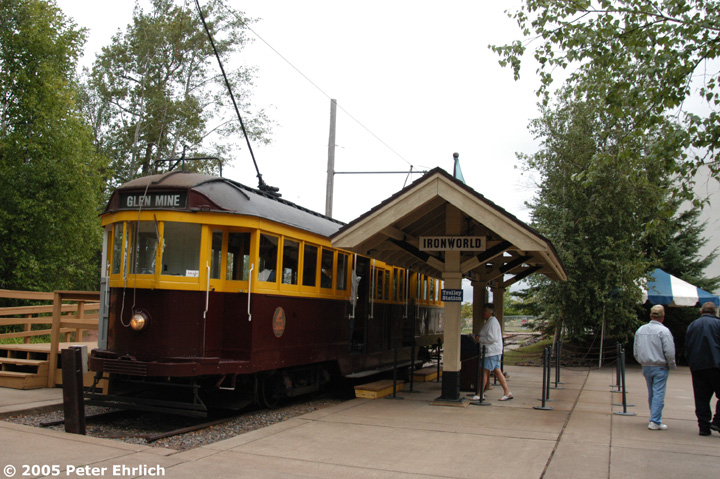 (177k, 720x479)<br><b>Country:</b> United States<br><b>City:</b> Chisholm, MN<br><b>System:</b> Ironworld<br><b>Car:</b> Melbourne W2 Class (1923-1931)  601 <br><b>Photo by:</b> Peter Ehrlich<br><b>Date:</b> 8/29/2005<br><b>Viewed (this week/total):</b> 4 / 1458