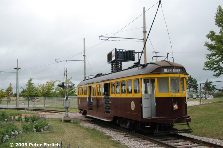 (138k, 720x478)<br><b>Country:</b> United States<br><b>City:</b> Chisholm, MN<br><b>System:</b> Ironworld<br><b>Car:</b> Melbourne W2 Class (1923-1931)  601 <br><b>Photo by:</b> Peter Ehrlich<br><b>Date:</b> 8/29/2005<br><b>Notes:</b> Departing Ironworld station.<br><b>Viewed (this week/total):</b> 0 / 1572