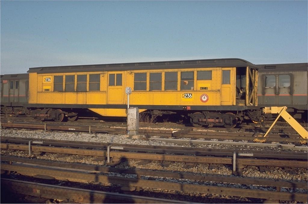 (182k, 1024x678)<br><b>Country:</b> United States<br><b>City:</b> New York<br><b>System:</b> New York City Transit<br><b>Location:</b> Coney Island Yard<br><b>Car:</b> Low-V G236 (ex-4954)<br><b>Collection of:</b> Joe Testagrose<br><b>Date:</b> 1/1967<br><b>Viewed (this week/total):</b> 0 / 1729