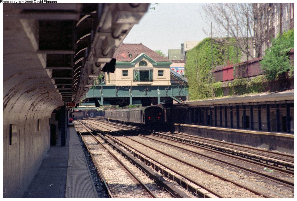 (265k, 1044x707)<br><b>Country:</b> United States<br><b>City:</b> New York<br><b>System:</b> New York City Transit<br><b>Line:</b> BMT Brighton Line<br><b>Location:</b> Cortelyou Road <br><b>Photo by:</b> David Pirmann<br><b>Date:</b> 4/26/1997<br><b>Viewed (this week/total):</b> 4 / 2275