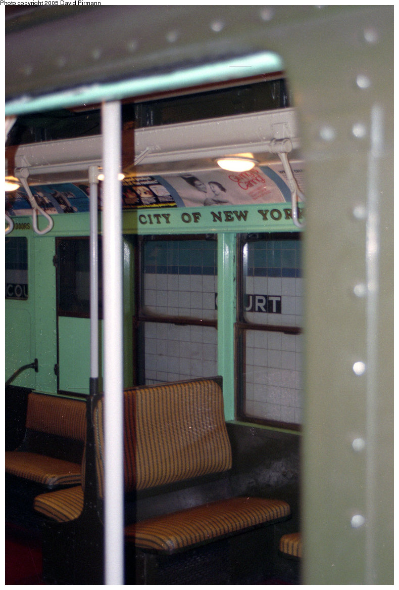 (196k, 790x1167)<br><b>Country:</b> United States<br><b>City:</b> New York<br><b>System:</b> New York City Transit<br><b>Location:</b> New York Transit Museum<br><b>Car:</b> R-4 (American Car & Foundry, 1932-1933) 484 <br><b>Photo by:</b> David Pirmann<br><b>Date:</b> 10/1/1995<br><b>Viewed (this week/total):</b> 0 / 2149
