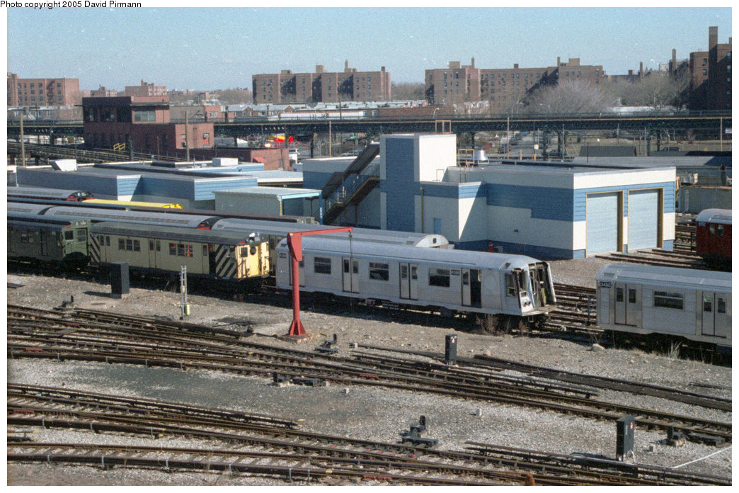 (257k, 1044x696)<br><b>Country:</b> United States<br><b>City:</b> New York<br><b>System:</b> New York City Transit<br><b>Location:</b> Coney Island Yard<br><b>Car:</b> R-40 (St. Louis, 1968)  4259 <br><b>Photo by:</b> David Pirmann<br><b>Date:</b> 2/24/1996<br><b>Viewed (this week/total):</b> 3 / 2650