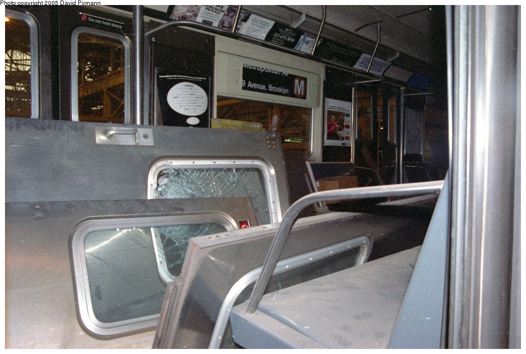 (217k, 1044x703)<br><b>Country:</b> United States<br><b>City:</b> New York<br><b>System:</b> New York City Transit<br><b>Location:</b> Coney Island Shop/Overhaul & Repair Shop<br><b>Car:</b> R-42 (St. Louis, 1969-1970)   <br><b>Photo by:</b> David Pirmann<br><b>Date:</b> 2/24/1996<br><b>Notes:</b> R42 heavy overhaul.<br><b>Viewed (this week/total):</b> 0 / 4378