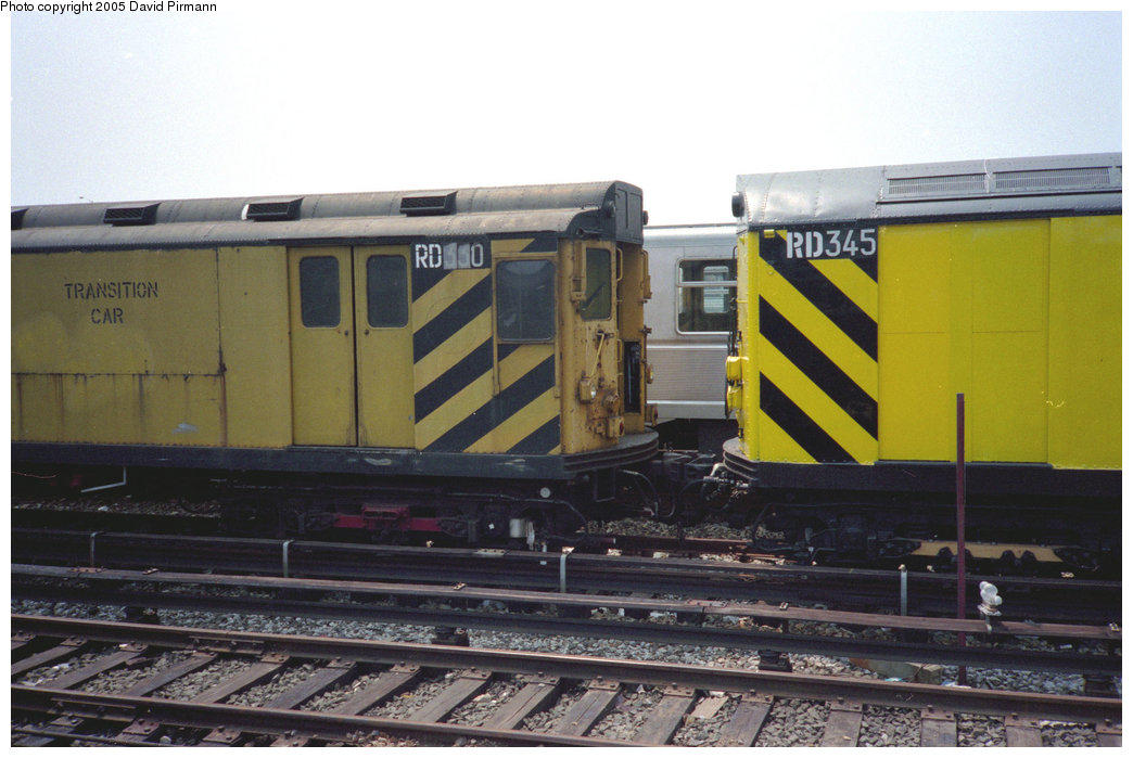 (171k, 1044x699)<br><b>Country:</b> United States<br><b>City:</b> New York<br><b>System:</b> New York City Transit<br><b>Location:</b> Coney Island Yard<br><b>Car:</b> R-71 Rider Car (R-17/R-21/R-22 Rebuilds)  RD330 (ex-5857)<br><b>Photo by:</b> David Pirmann<br><b>Date:</b> 7/23/1995<br><b>Viewed (this week/total):</b> 0 / 1569