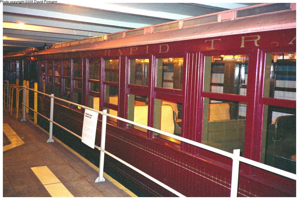 (268k, 1044x697)<br><b>Country:</b> United States<br><b>City:</b> New York<br><b>System:</b> New York City Transit<br><b>Location:</b> New York Transit Museum<br><b>Car:</b> BMT Elevated Gate Car 1407 <br><b>Photo by:</b> David Pirmann<br><b>Date:</b> 7/23/1995<br><b>Viewed (this week/total):</b> 2 / 2612