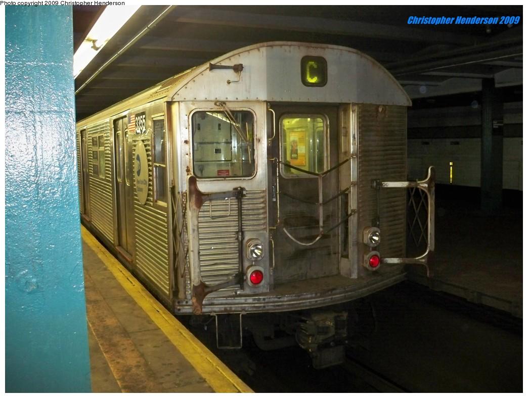 (195k, 1044x788)<br><b>Country:</b> United States<br><b>City:</b> New York<br><b>System:</b> New York City Transit<br><b>Line:</b> IND Fulton Street Line<br><b>Location:</b> Hoyt-Schermerhorn Street <br><b>Route:</b> C<br><b>Car:</b> R-32 (Budd, 1964)  3437 <br><b>Photo by:</b> Christopher Henderson<br><b>Date:</b> 8/1/2009<br><b>Viewed (this week/total):</b> 0 / 1402