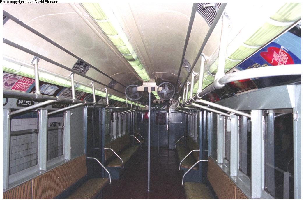(205k, 1044x696)<br><b>Country:</b> United States<br><b>City:</b> New York<br><b>System:</b> New York City Transit<br><b>Location:</b> New York Transit Museum<br><b>Car:</b> R-12 (American Car & Foundry, 1948) 5760 <br><b>Photo by:</b> David Pirmann<br><b>Date:</b> 12/10/1995<br><b>Viewed (this week/total):</b> 0 / 2777
