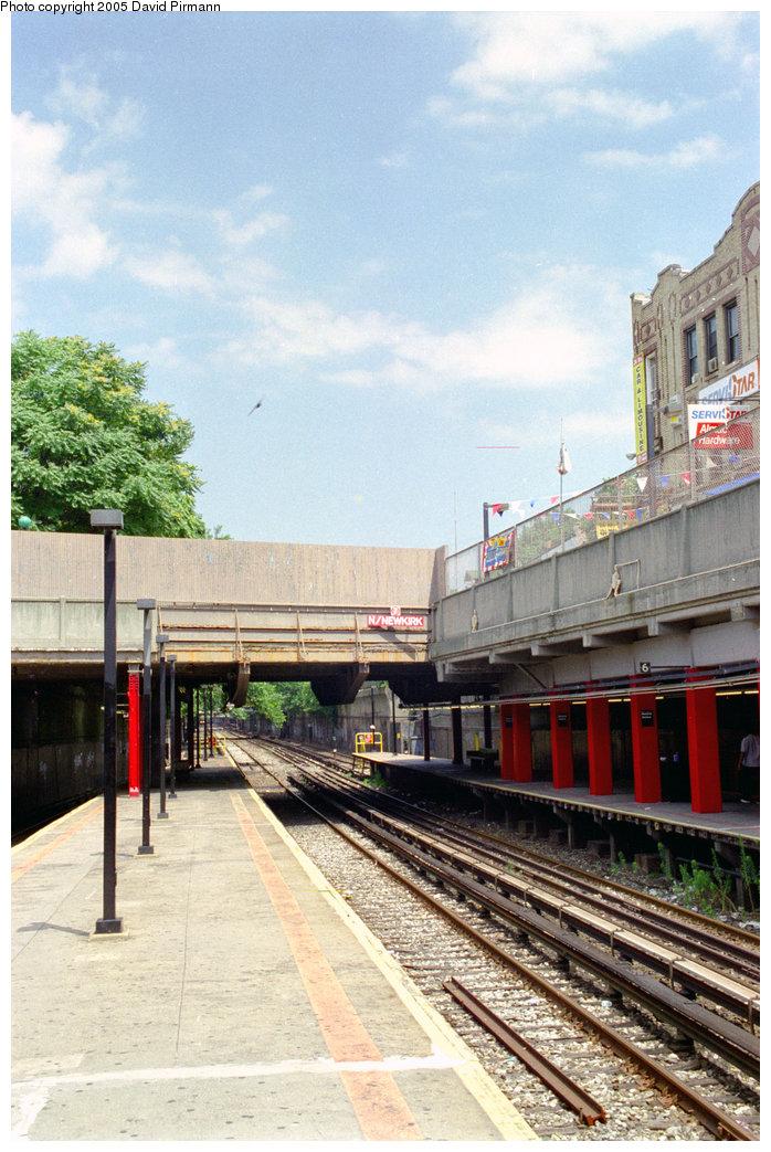 (219k, 698x1043)<br><b>Country:</b> United States<br><b>City:</b> New York<br><b>System:</b> New York City Transit<br><b>Line:</b> BMT Brighton Line<br><b>Location:</b> Newkirk Plaza (fmrly Newkirk Ave.) <br><b>Photo by:</b> David Pirmann<br><b>Date:</b> 7/18/1998<br><b>Viewed (this week/total):</b> 0 / 2039