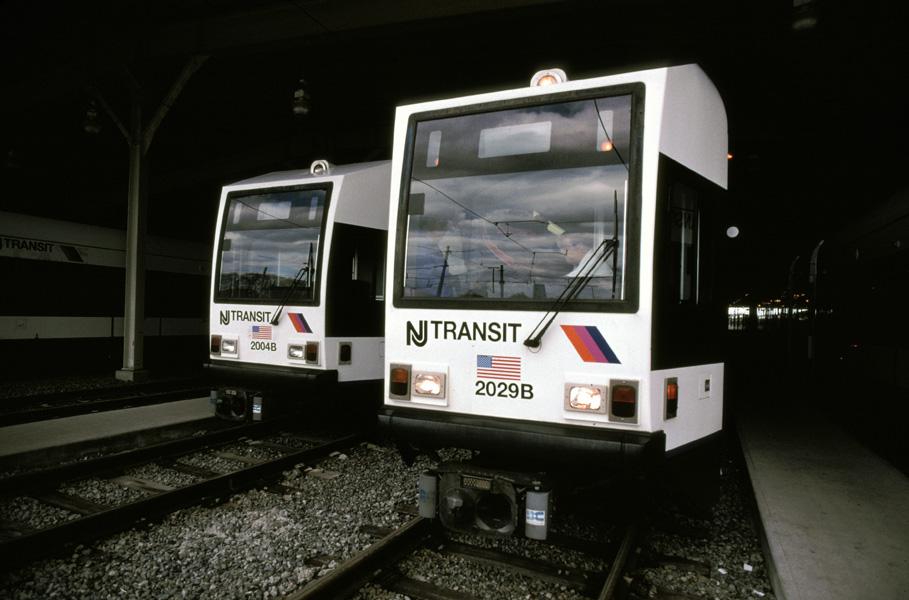 (147k, 909x600)<br><b>Country:</b> United States<br><b>City:</b> Jersey City, NJ<br><b>System:</b> Hudson Bergen Light Rail<br><b>Location:</b> HBLR Shops/Yard <br><b>Car:</b> NJT-HBLR LRV (Kinki-Sharyo, 1998-99)  2004/2029 <br><b>Photo by:</b> Chris Leverett<br><b>Date:</b> 10/16/2004<br><b>Viewed (this week/total):</b> 1 / 1309
