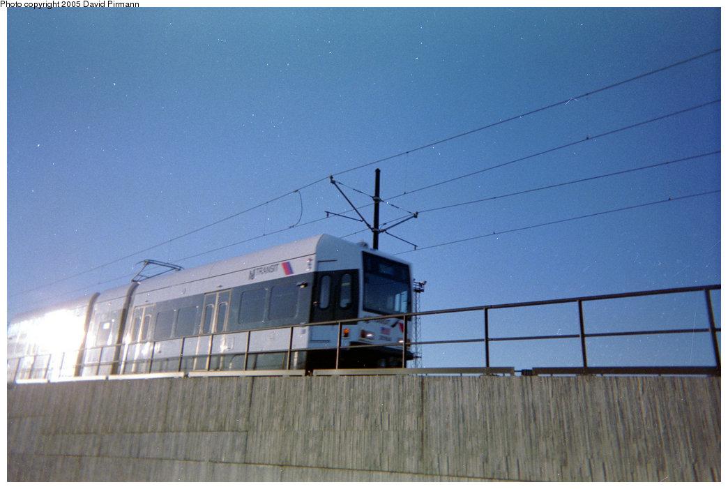 (154k, 1044x701)<br><b>Country:</b> United States<br><b>City:</b> Jersey City, NJ<br><b>System:</b> Hudson Bergen Light Rail<br><b>Location:</b> Between Newport & Hoboken <br><b>Photo by:</b> David Pirmann<br><b>Date:</b> 2/2004<br><b>Viewed (this week/total):</b> 0 / 1848