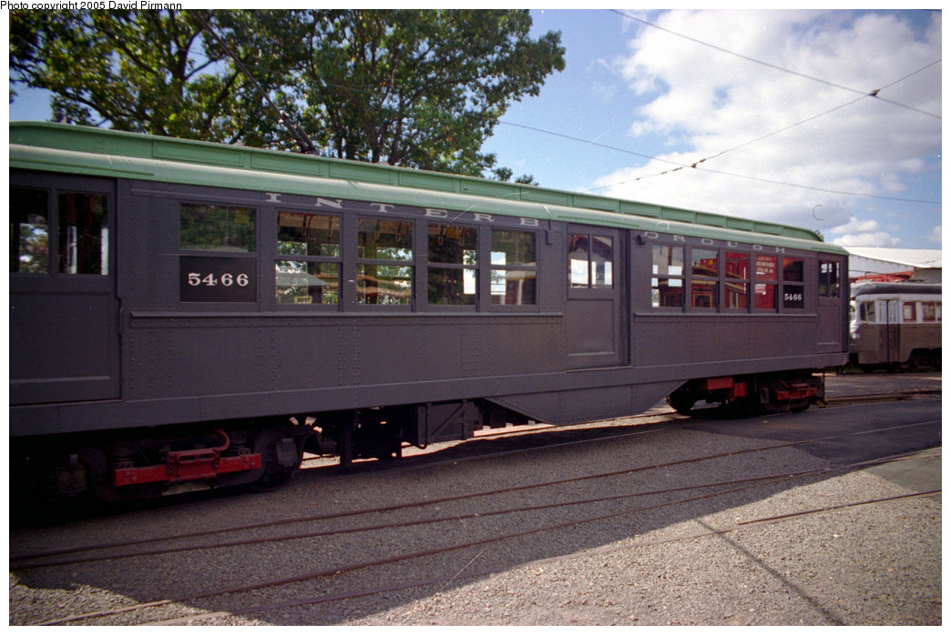 (216k, 1044x698)<br><b>Country:</b> United States<br><b>City:</b> East Haven/Branford, Ct.<br><b>System:</b> Shore Line Trolley Museum <br><b>Car:</b> Low-V (Museum Train) 5466 <br><b>Photo by:</b> David Pirmann<br><b>Date:</b> 10/5/1996<br><b>Viewed (this week/total):</b> 0 / 1332