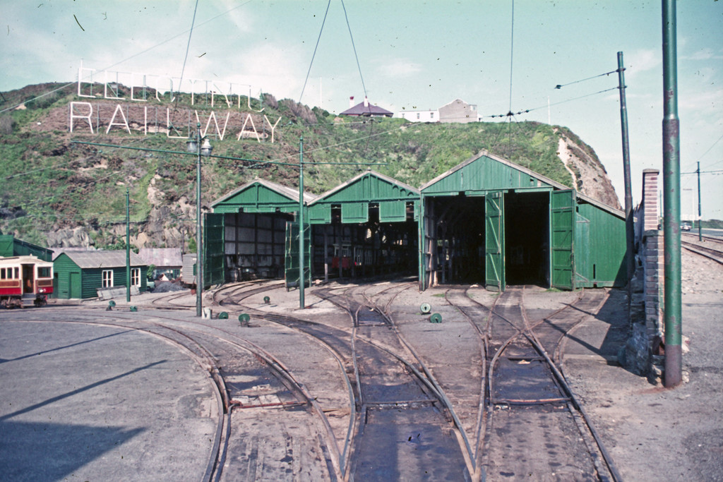 (267k, 1024x683)<br><b>Country:</b> Isle of Man (U.K.)<br><b>System:</b> Manx Electric Railway<br><b>Location:</b> Derby Castle Depot <br><b>Collection of:</b> David Pirmann/Frank Hicks<br><b>Notes:</b> Photo taken approx 1970.<br><b>Viewed (this week/total):</b> 0 / 1478
