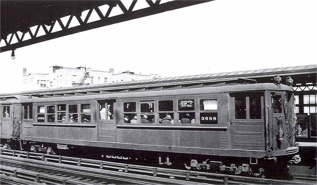 (187k, 1024x599)<br><b>Country:</b> United States<br><b>City:</b> New York<br><b>System:</b> New York City Transit<br><b>Line:</b> IRT Pelham Line<br><b>Location:</b> Morrison/Soundview Aves. <br><b>Car:</b> Hi-V 3698 <br><b>Photo by:</b> Ed Watson/Arthur Lonto Collection<br><b>Collection of:</b> Joe Testagrose<br><b>Date:</b> 1930<br><b>Viewed (this week/total):</b> 0 / 2857