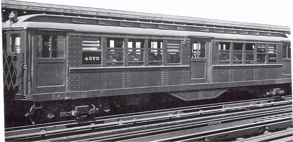 (168k, 1024x497)<br><b>Country:</b> United States<br><b>City:</b> New York<br><b>System:</b> New York City Transit<br><b>Line:</b> IRT Flushing Line<br><b>Car:</b> Low-V 4575 <br><b>Photo by:</b> Ed Watson/Arthur Lonto Collection<br><b>Collection of:</b> Joe Testagrose<br><b>Date:</b> 1936<br><b>Notes:</b> Pre-Worlds Fair. Original signs.<br><b>Viewed (this week/total):</b> 3 / 1801