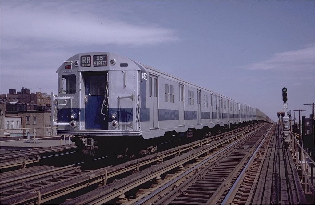 (197k, 1024x667)<br><b>Country:</b> United States<br><b>City:</b> New York<br><b>System:</b> New York City Transit<br><b>Line:</b> BMT Astoria Line<br><b>Location:</b> 39th/Beebe Aves. <br><b>Route:</b> RR<br><b>Car:</b> R-30 (St. Louis, 1961) 8320 <br><b>Photo by:</b> Steve Zabel<br><b>Collection of:</b> Joe Testagrose<br><b>Date:</b> 3/28/1971<br><b>Viewed (this week/total):</b> 3 / 3158